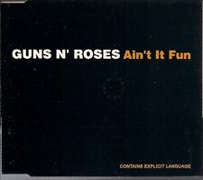 Guns N' Roses Ain't It Fun UK CD Single