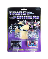 TRANSFORMERS G1 Reissue cassettes Ravage and Rumble  brand new