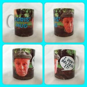 personalised mug cup Victor meldrew one foot in the grave i dont believe it :)
