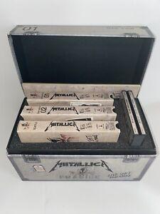 Metallica Live Shit Binge & Purge 3 CD's & 3 VHS Box Set Pit Pass Rare! Rock