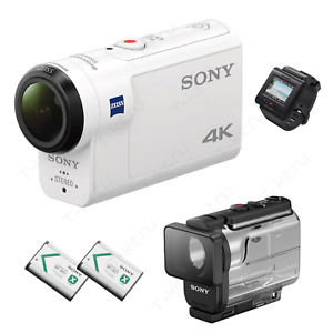 Sony FDR-X3000R 4K Action Camcorder with Live-View Remote - White