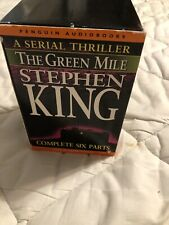 Stephen King The Green Mile Complete 6 Parts Box Set Audiocassettes