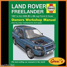 5571 Haynes Land Rover Freelander (1997-OTTOBRE 2006) R a 56 Manuale di Officina