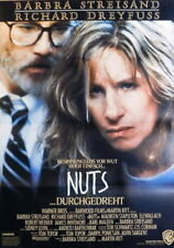 Barbra Streisand NUTS original vintage 1 sheet movie poster 1988