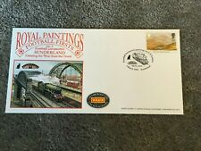 Sunderland Football Black Cat Train First Day Cover