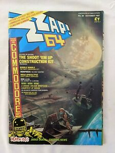 Zzap 64 Magazine Issue 30 October 1987 Commodore 64 gaming
