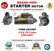pour Ford Escort 1.8 D TD Turbo 1990-2001 Neuf Démarreur moteur 2.2Kw 10 dents