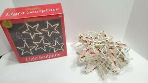 Vintage HOLIDAY TIME Light Sculpture. Original Packaging. WORKING LIGHTS