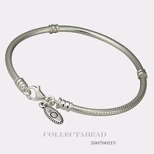 Authentic Pandora Sterling Silver Bracelet with Lobster Lock 6.3 590700HV-16