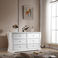 brand new Addyson 6 chest of  drawers in white finish