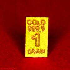 1x GOLDBARREN mit 0,0648 Gramm + Limitiert + Zertifikat (999,9 Gold Barren) RAR