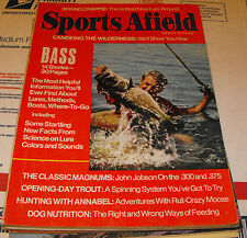 SPORTS AFIELD HUNTING AND FISHING MAGAZINE CANOEING THE WILDERNESS MARCH 1973