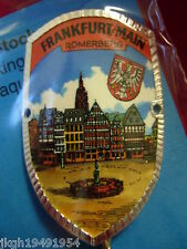Frankfurt am Main new shield mount badge stocknagel hiking medallion G9974