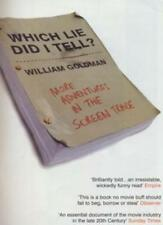 Which Lie Did I Tell?,William Goldman