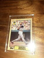 1987 Barry Bonds Rookie Card #320 RC (The Shortstop) Gem Mint Condition ⚾️⚾️💥