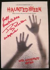 HAUNTEDWEEN DVD Signed By Writer/Directr W Doug Robertson VERY RARE NOT CODE RED