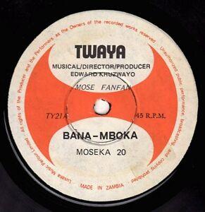 """BANA MBOKA-moseka 20    twaya 7""""    (hear)   african"""