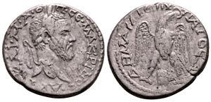 MACRINUS (217-218 AD) Rare Tetradrachm. Aradus #IR 7547