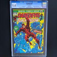 Daredevil #100 (1973) 💥 CGC 9.4 💥 Black Widow Cover Anniversary Issue! Marvel