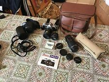 Pentax MX Camera and lenses