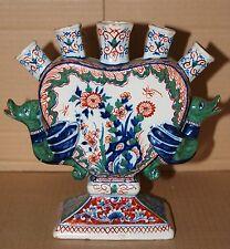 18th C. Dutch Tulip Vase/ TULIPIERES by PIETER ADRIAENSZ KOCKS, De Griekische A