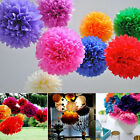 Paper Flower Balls Tissue Pom Poms Colorful Wedding Birthday Party Home Decor