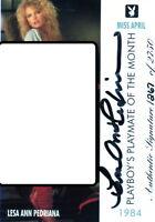 auto / autograph / signed playboy card 1267/2750 lisa ann pedriana