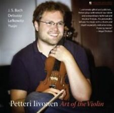 Art of the Violin, Petteri Iivonen, Bach, Lefkowitz, New