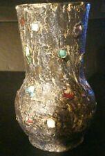 Rare vase céramique signé jacky COVILLE  XX Vintage