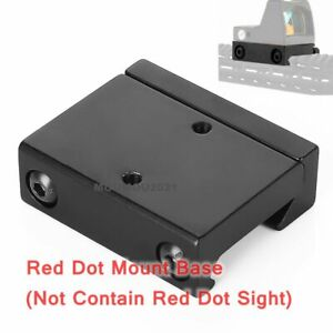 Tactical RMR Red Dot Sight Low 20mm Picatinny/Weaver Rail Base for RM33 Sights