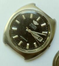Ricoh Automatic Black Dial Japanese Watch From 1960 For Parts