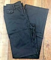 """Banana Republic Martin Fit Women's Black Full Leg Pants Size 2 28x32"""""""