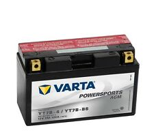 Varta Powersports AGM yt7b-4 yt7b-bs Batería de la Motocicleta 7ah 12v 507901012
