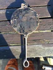 Rare Vintage Norwegian Cast Iron Krumkake Iron