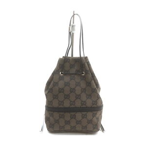 Gucci Accessories Pouch Bag GG Canvas Other Brown Canvas 2401522