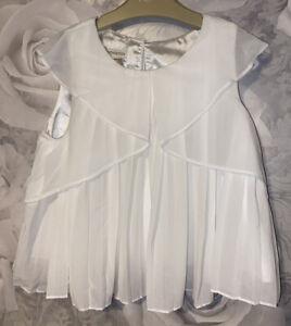 Girls Age 7 (6-7 Years) Monsoon Summer Top - Sheer Fabric