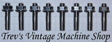 Yamaha XJR1300 stainless steel exhaust studs & flange nuts, set of 8. ES1