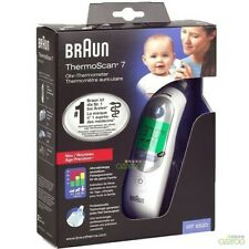 Braun Thermoscan 7 Irt6520 Thermometer (European Version),Clear