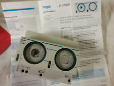 HAGER  EH-266P  PROGRAMMATEUR  HORAIRE  2  ZONES  SUR  24H