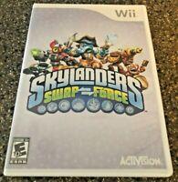 Skylanders Swap Force - Nintendo Wii - Complete w/ Manual - Clean & Tested