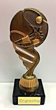 Tennis Ball Trophy + FREE Engraving + FREE P&P