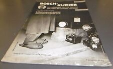 zeitschrift robert bosch ag kurier f freunde  heft 14 1956 alt reklame / werbung