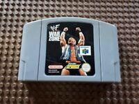 Nintendo 64 Spiel Modul WWF WAR ZONE N64 Wrestling