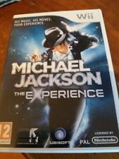 MICHAEL JACKSON THE EXPERIENCE NINTENDO WII TELEVISION GAME
