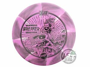 NEW DGA 2021 Swirly Proline Breaker 173-174g Pink Black Stamp Putter Golf Disc