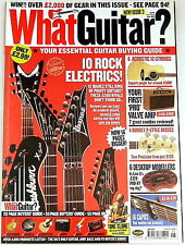 What Guitar Magazine Julne 2003 Ibanez Peavey Washburn Dean BC Rich Maverick