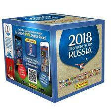 Caja STIKERS mundial de rusia 2018.Nueva de fabrica 50 sobres