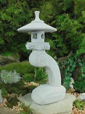 Rankei R Japanische Steinlaterne Gartenlaterne Frost u. Wetterfest Steinguss