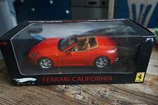 1:18 Hot Wheels Elite  Ferrari California red