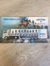 """Minitruck / Werbetruck / LKW  - Gerolsteiner """"Leben macht durstig"""" - Rarität"""